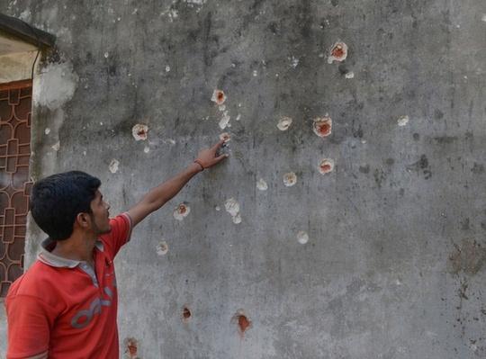 Dhamala home shelling