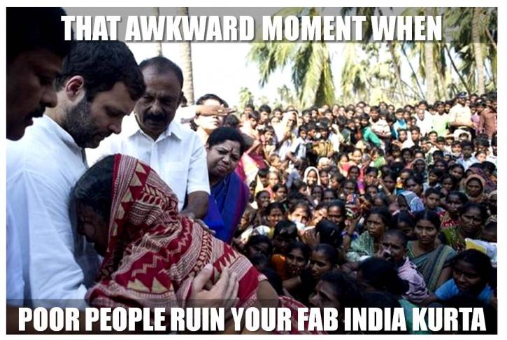 Fab India Rahul Gandhi funny