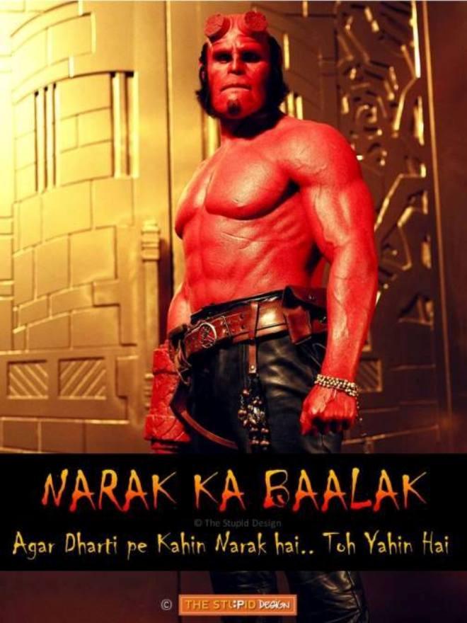 Indian Hellboy