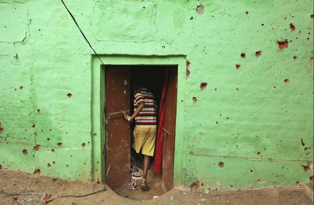 A villager near Jammu