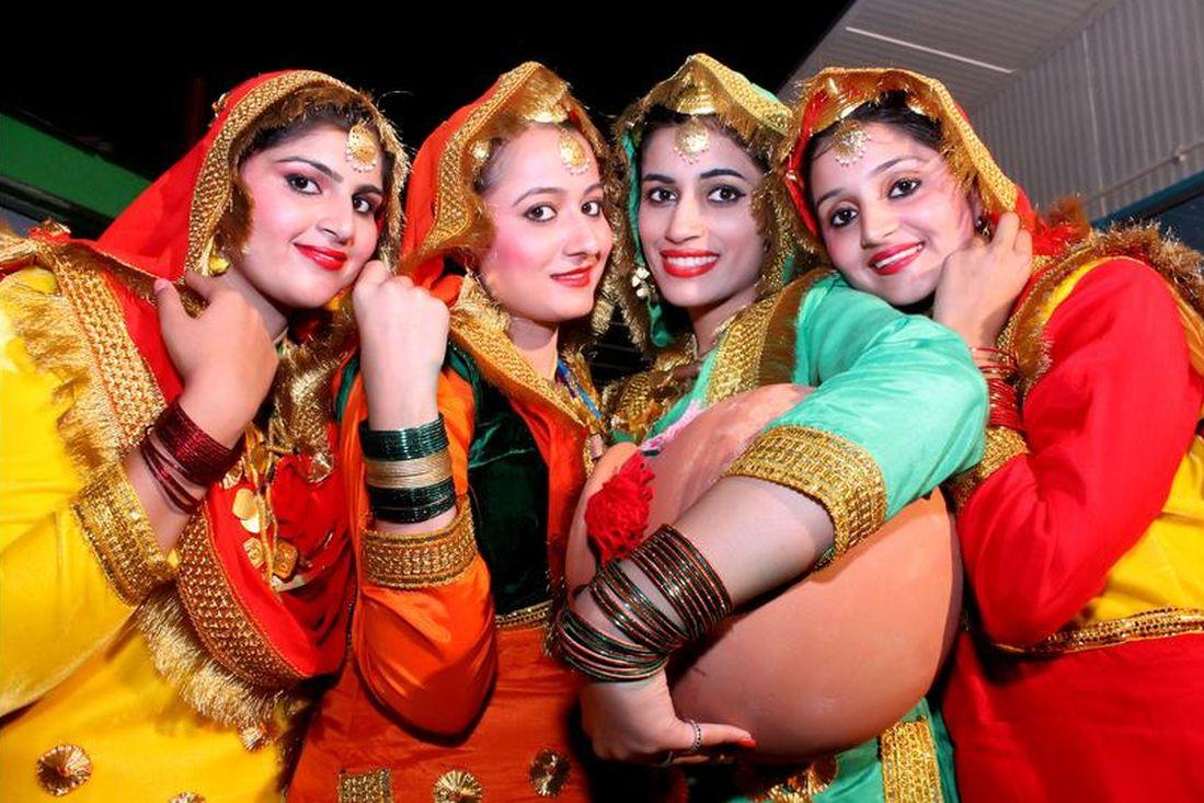 Punjabi artists at International Kullu Dussehra Festival