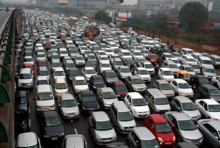 traffic jam ggn
