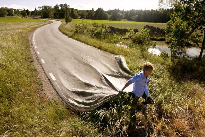 Long Road Erik Johansson Photography