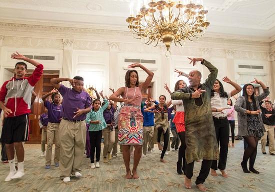 Michelle Obama Diwali