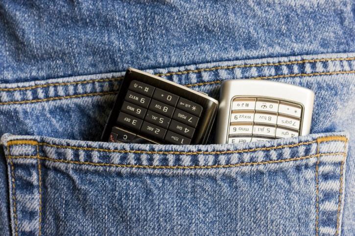 Mobile Phones in Back Pocket