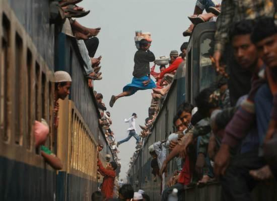 India train running