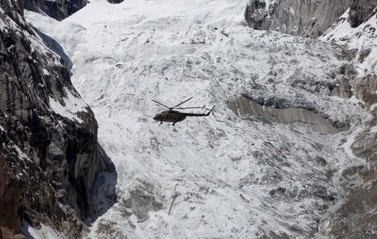 Modi chopper on its way to Siachen