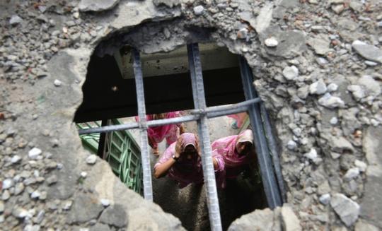 Dhamala border shelling