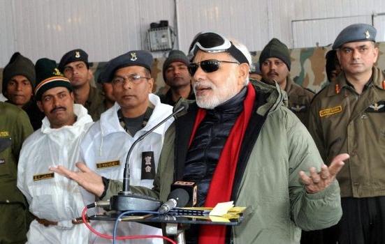 Modi at Siachen