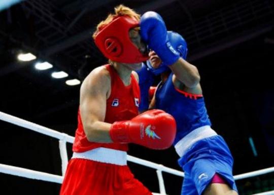 Sarita Devi Punching