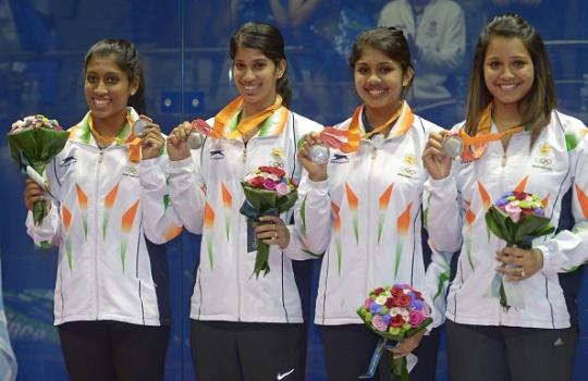 Indian Squash Team