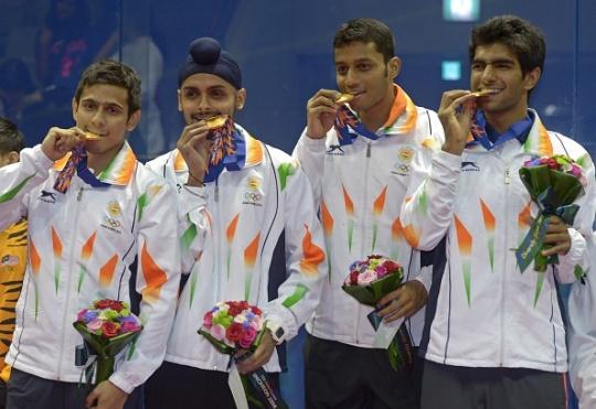 Men's squash team