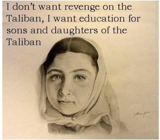 Taliban Malala quote