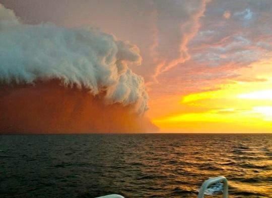 Indian ocean cloud