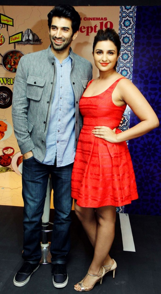 Aditya Roy Kapur and Parineeti Chopra
