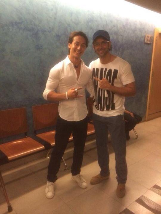 Hrithik Roshan and Tiger Shroff
