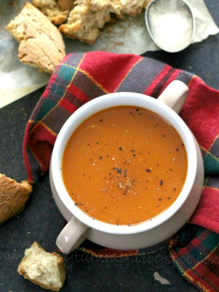 Tomato Soup with Smoked Chilli Recipe