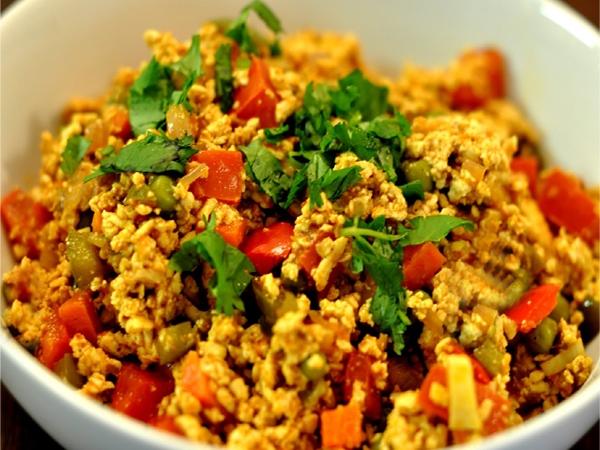 Healthy Recipe: Tofu Bhurji