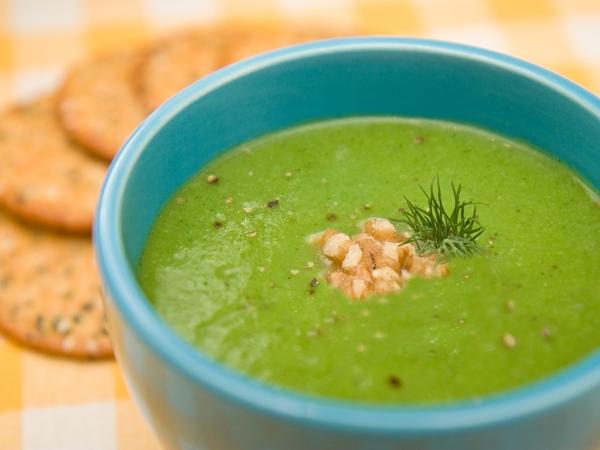Healthy Soup Recipe: Broccoli & Walnut Soup