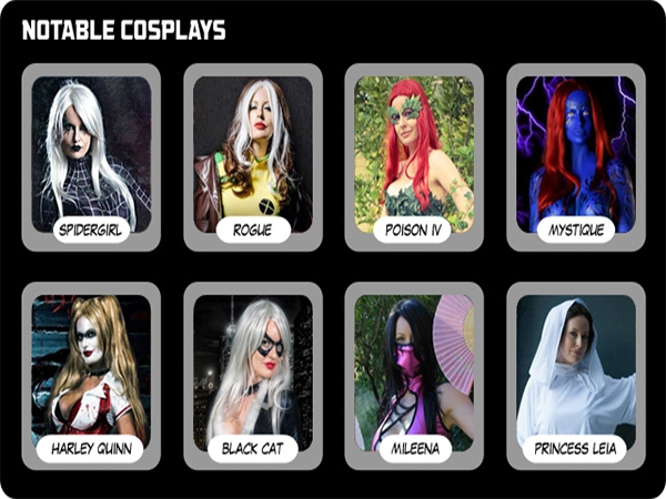 World's Fittest Cosplayers: Lady Jaded