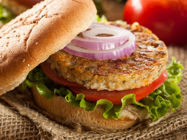 Healthy Recipe: Black-Eyed Bean And Mint Burgers