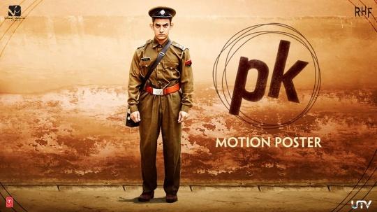 Aamir Khan in PK poster