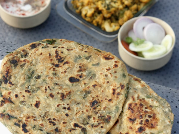 Iron Rich Recipe: Aliv Nutri Paratha