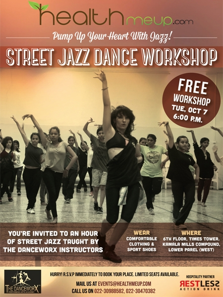 Street Jazz To Oomph Up Your Health