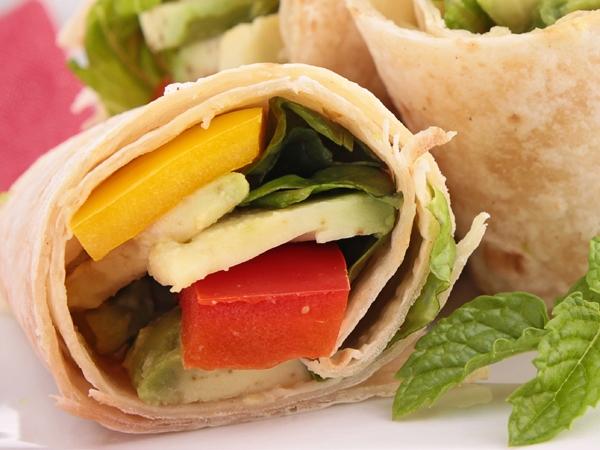 Healthy Recipe: Green Tomato Salsa And Veggie Wraps