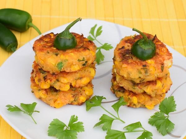 Healthy Snack Recipe: Corn And Rice Tikki Satay