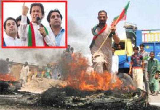 Political Storm Ebbs in Pakistan