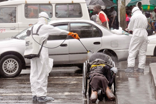 Ebola Infections Set to Soar in Liberia