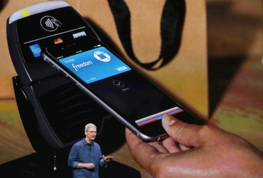 Apple's digital wallet