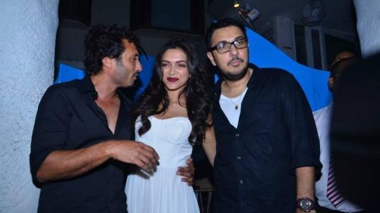 Homi Adajania, Deepika Padukone, Dinesh Vijan