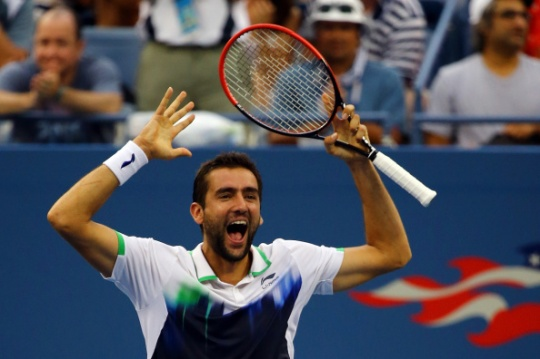Marin Cilic beat Roger Federer in a one-sided contest (Getty Images)