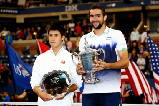 Nishikori and Cilic