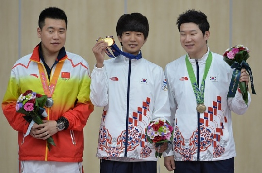 Asian Games: Korean schoolboy beats Olympic champion, His Hero