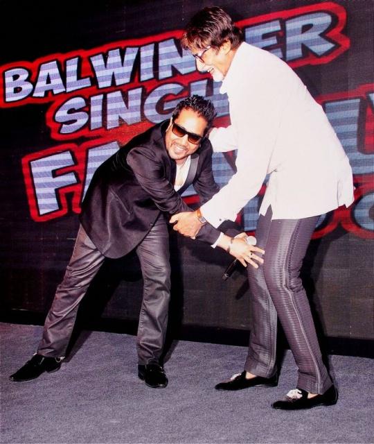 Mika and Amitabh Bachchan