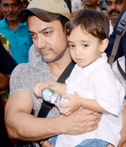 Aamir Khan and Azad Rao Khan in Bhopal