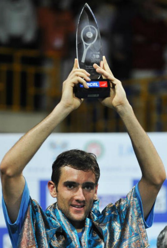 Cilic with Chennai Open title 2010