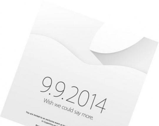 Apple 2014 Invite