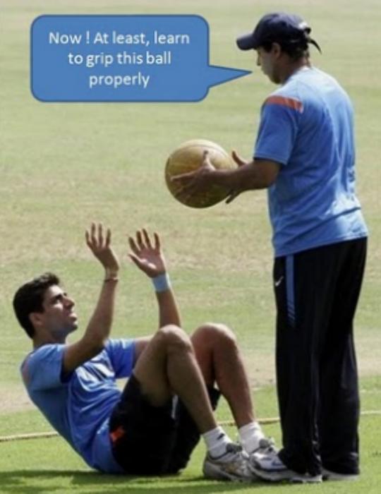 Catching practice