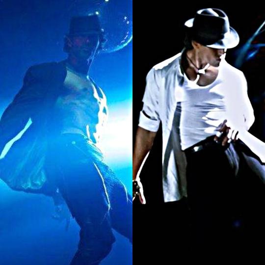 Hrithik Roshan and Tiger Shroff in Michael Jackson tributes