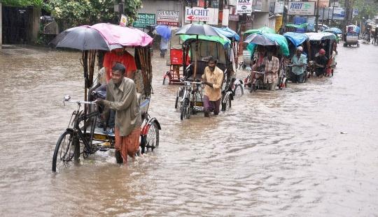 Rain Cripples Life in Guwahati