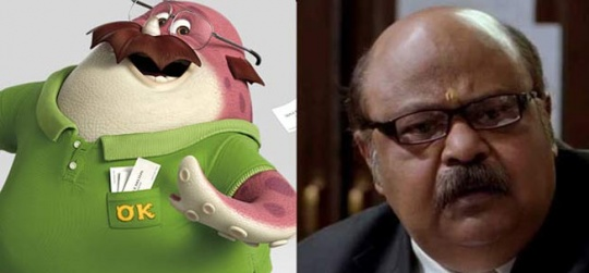 8 Indian Actors Who Look Like Animated Characters