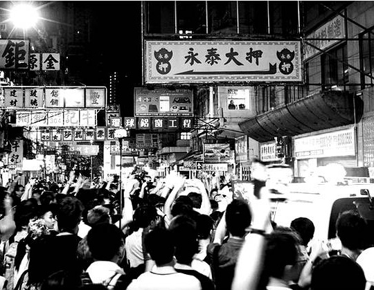 Hong Kong protest on Instagram