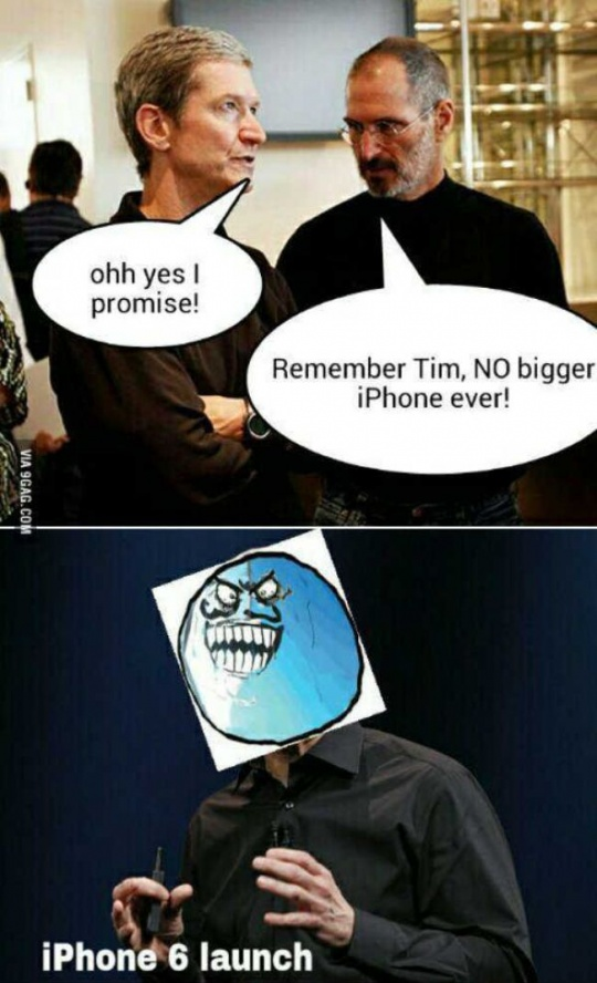 iPhone 6 Troll