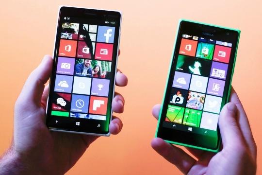 Lumia 830, Lumia 730