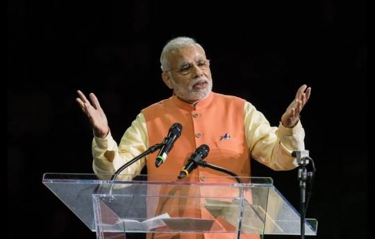 Narendra Modi at Madison Square Garden
