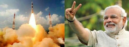 Modi to witness historic Mars mission event